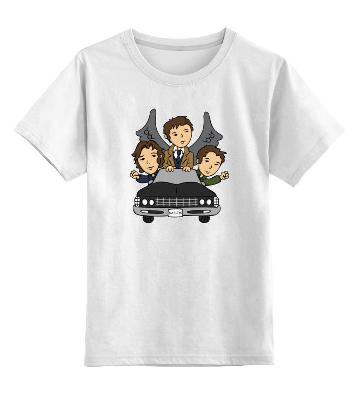 Printio Детская футболка классическая унисекс Сверхъестественное (supernatural)