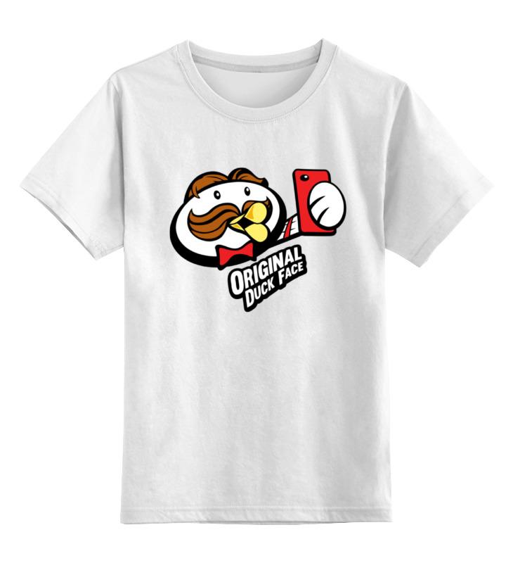 Printio Детская футболка классическая унисекс Уточка селфи printio детская футболка классическая унисекс король селфи