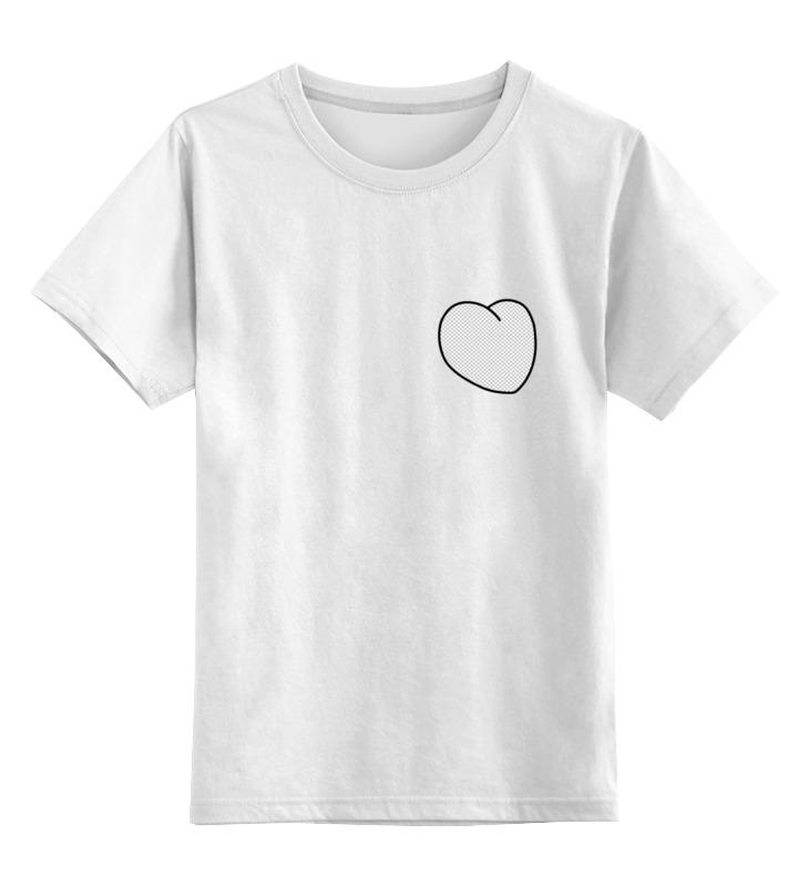 Printio Детская футболка классическая унисекс Вырезанное сердце printio футболка классическая вырезанное сердце 2