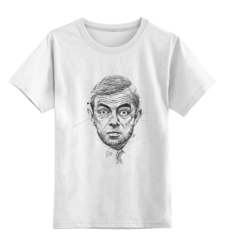 Printio Детская футболка классическая унисекс Мистер бин