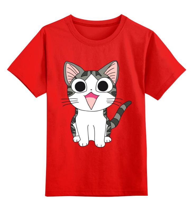 Printio Детская футболка классическая унисекс Милый котёнок