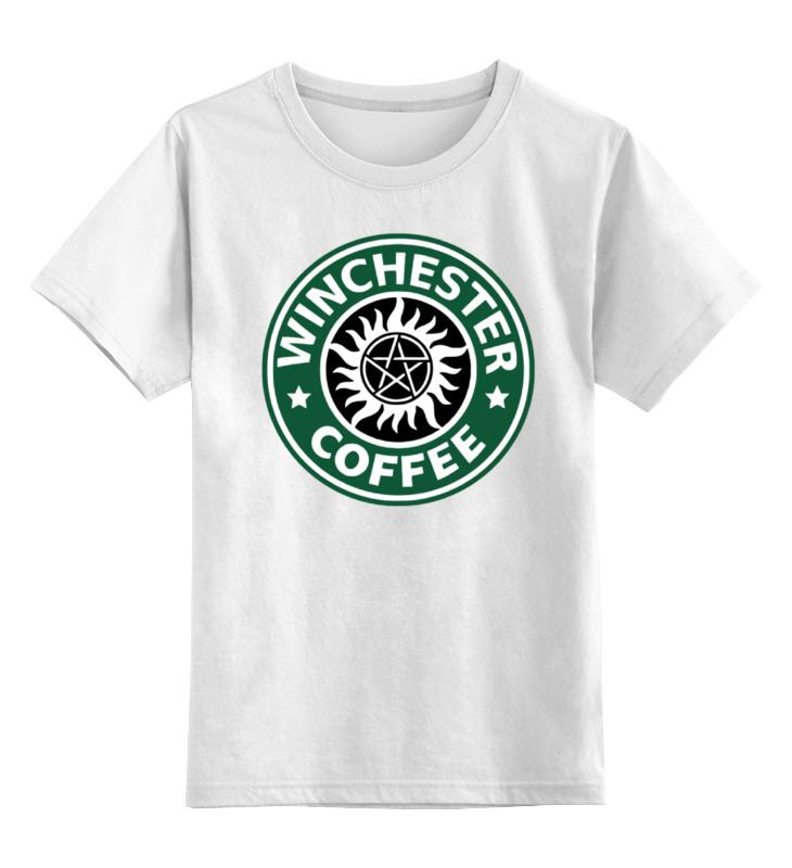 Printio Детская футболка классическая унисекс Братья винчестер (supernatural)
