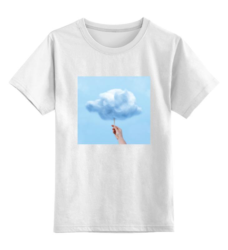printio детская футболка классическая унисекс классическая аркада Printio Детская футболка классическая унисекс Детская облако