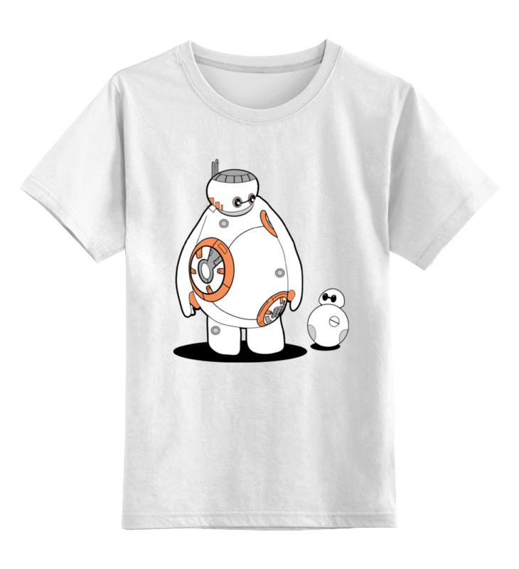 printio totoro x baymax Printio Детская футболка классическая унисекс Bb-8 baymax
