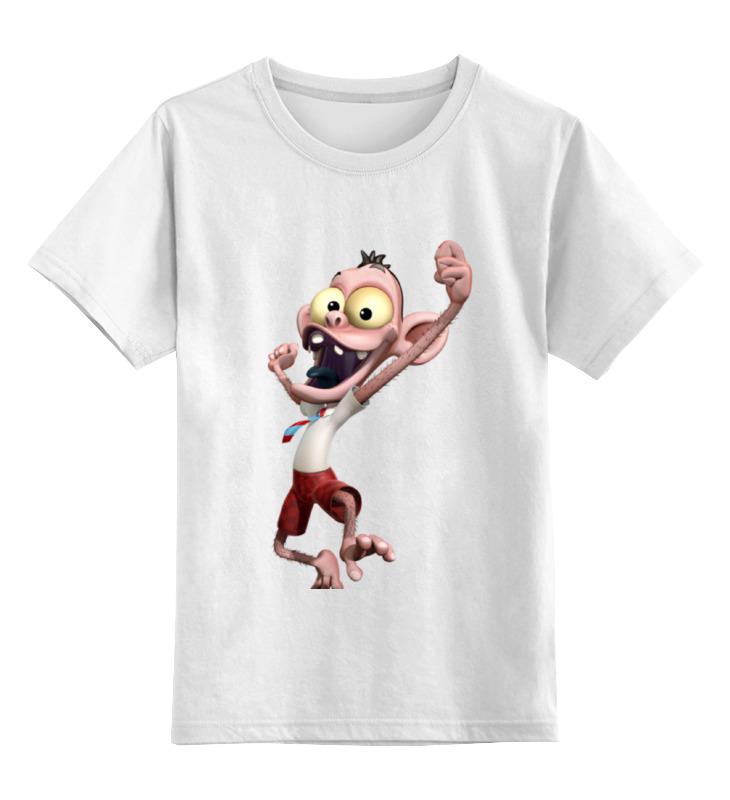 Printio Детская футболка классическая унисекс Обезьяна менеджер