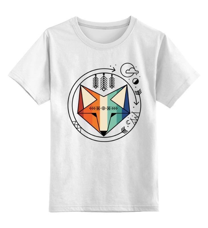 Фото - Printio Детская футболка классическая унисекс Геометрический лис printio футболка классическая модный лис 1
