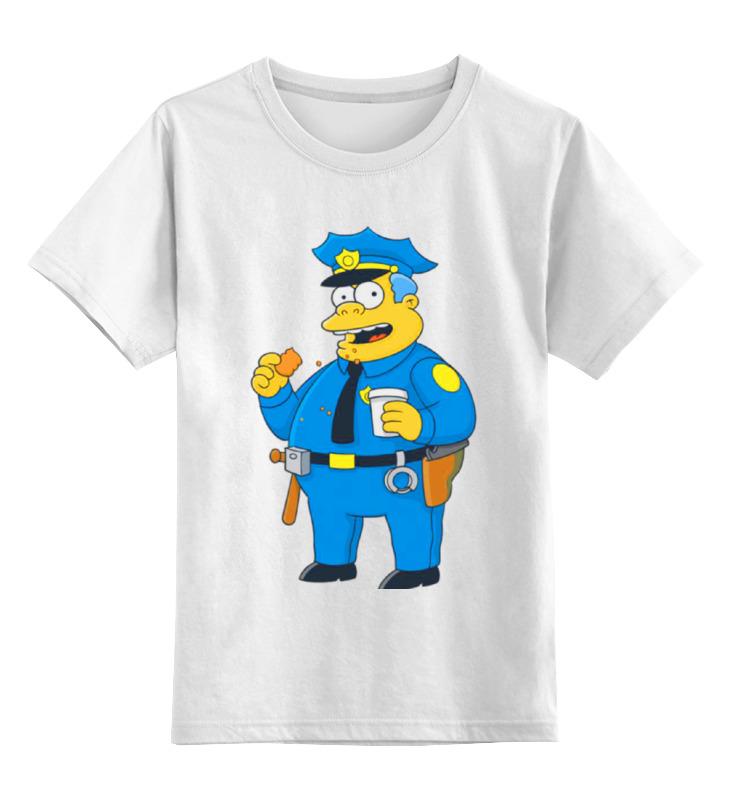 Printio Детская футболка классическая унисекс Полицейский из симпсонов