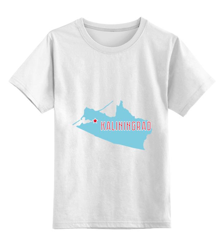 Printio Детская футболка классическая унисекс Калининградская область. калининград