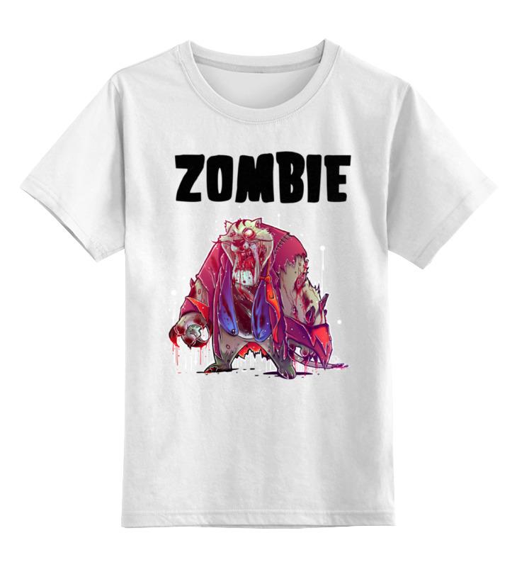 Printio Детская футболка классическая унисекс Zombie cat