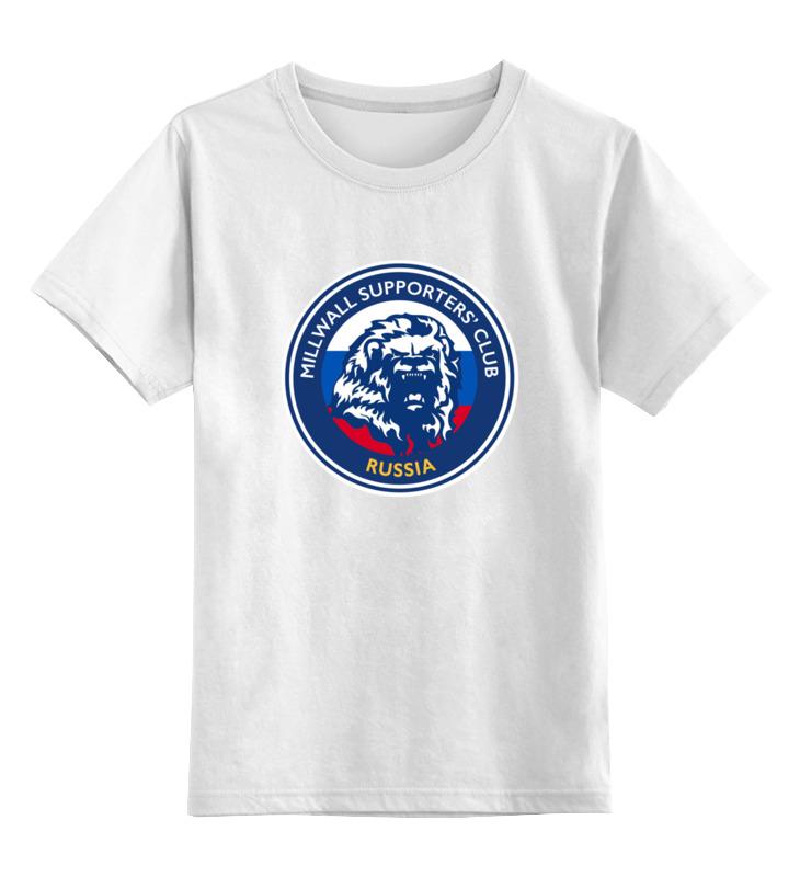 Printio Детская футболка классическая унисекс Millwall msc russia child tee