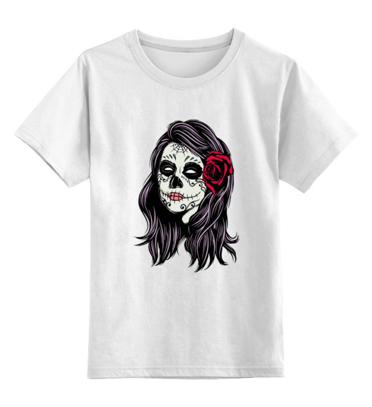 Printio Детская футболка классическая унисекс Skull girls printio свитшот унисекс хлопковый girls girls girls