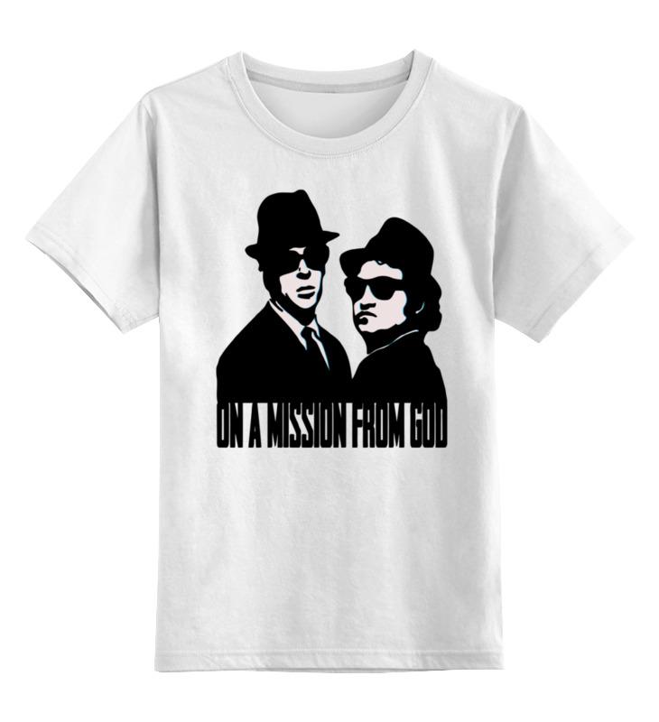 Printio Детская футболка классическая унисекс Братья блюз (the blues brothers)