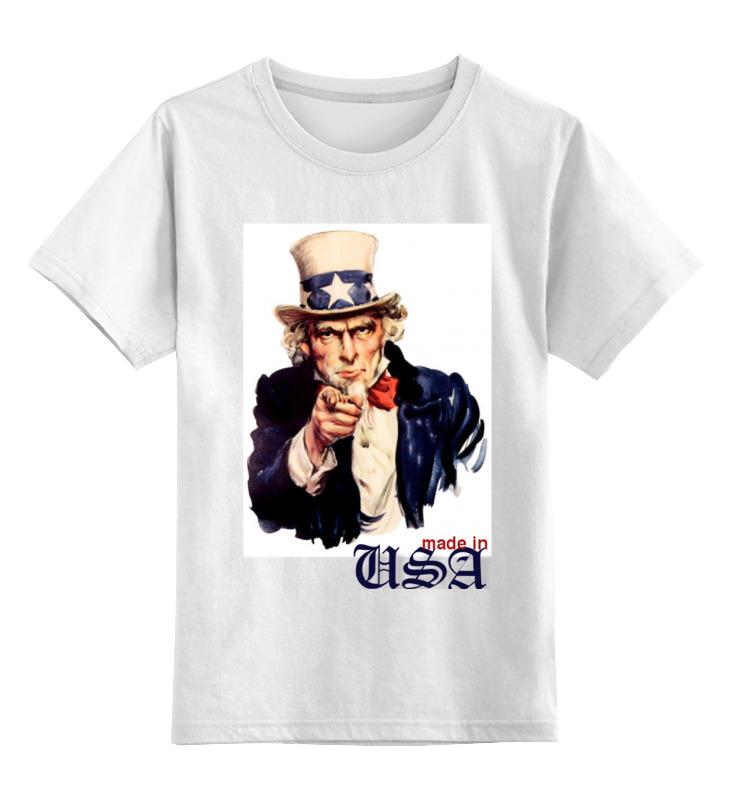 Printio Детская футболка классическая унисекс Америка