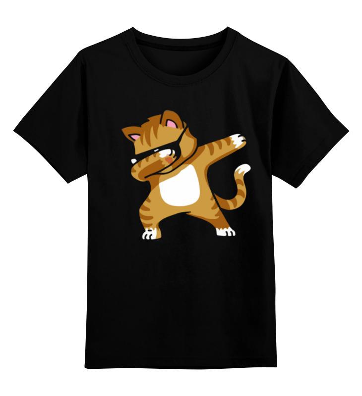 Printio Детская футболка классическая унисекс Кот танцует дэб