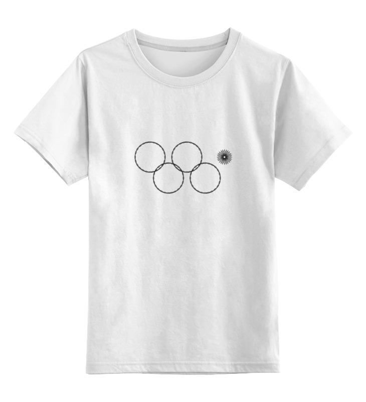 Printio Детская футболка классическая унисекс Олимпийские кольца в сочи 2014