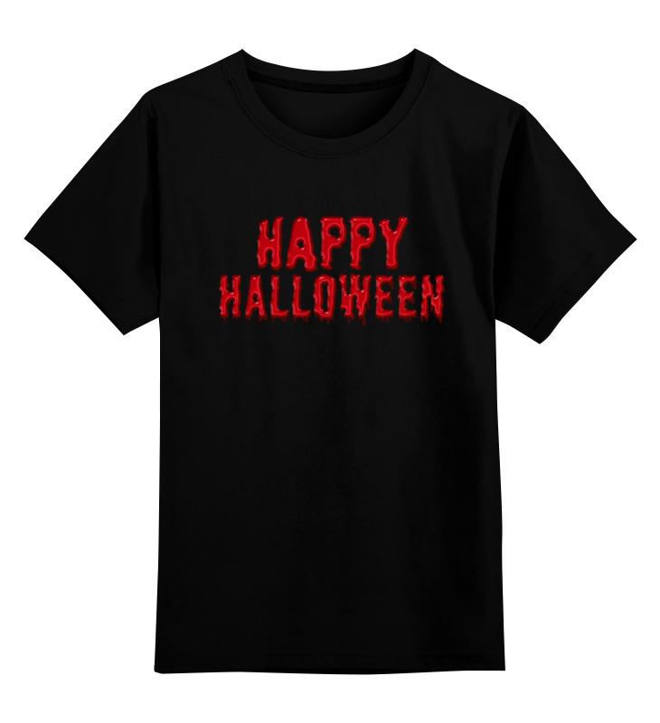 Printio Детская футболка классическая унисекс Happy halloween недорого