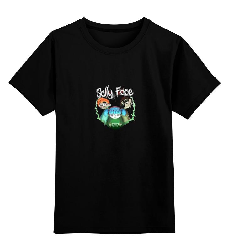 Printio Детская футболка классическая унисекс Sally face (салли фейс)