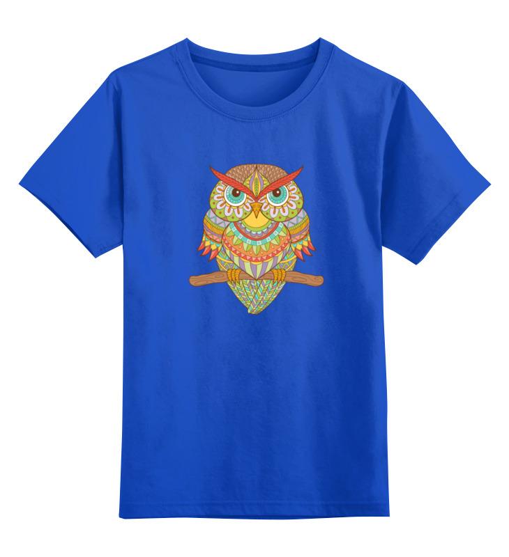 Printio Детская футболка классическая унисекс Этно сова printio детская футболка классическая унисекс этно лиса