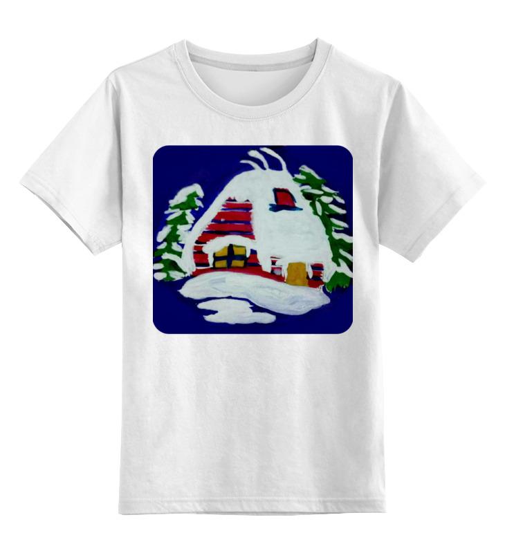 Printio Детская футболка классическая унисекс Дом в лесу