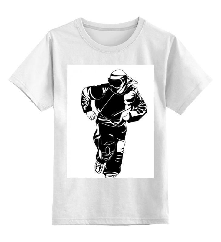 Printio Детская футболка классическая унисекс Пейнтболист