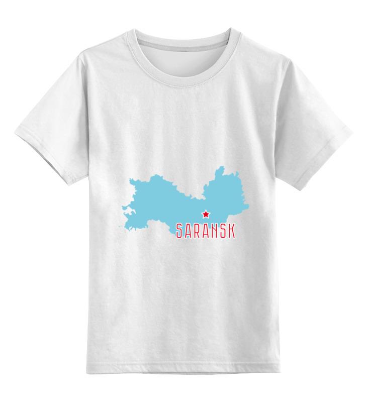 Printio Детская футболка классическая унисекс Республика мордовия. саранск