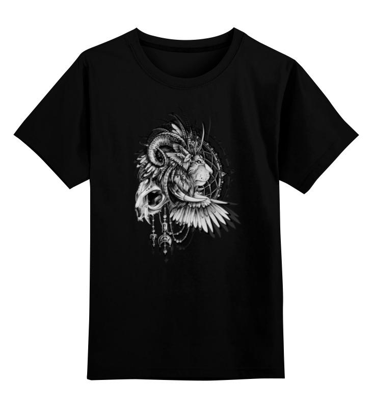 printio lion in cages Printio Детская футболка классическая унисекс Lion in cages