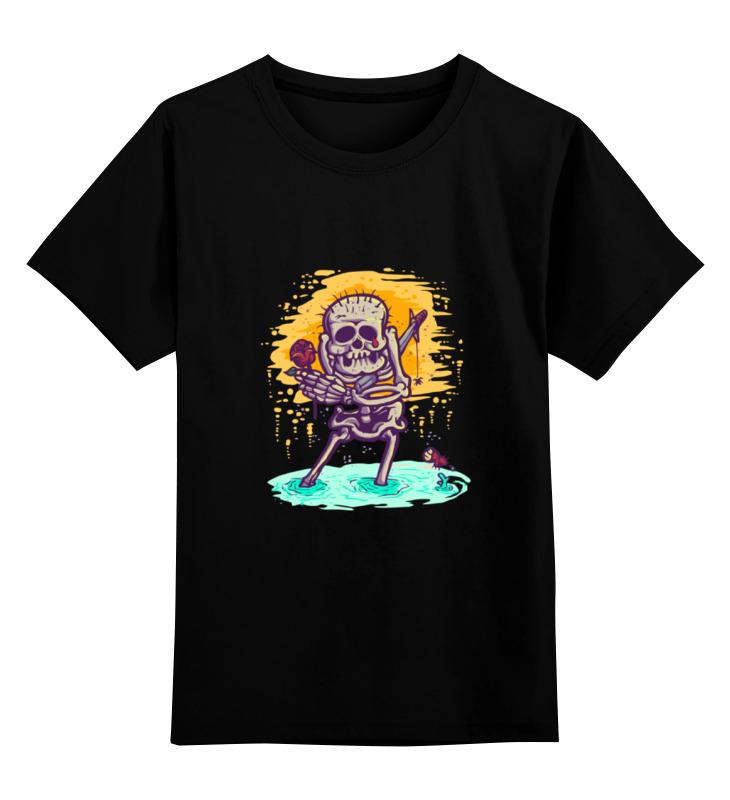 Фото - Printio Детская футболка классическая унисекс Скелет с розой printio детская футболка классическая унисекс скелет и жуткий кот