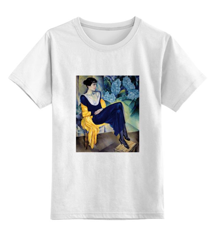 Printio Детская футболка классическая унисекс Портрет а. а. ахматовой (натан альтман)