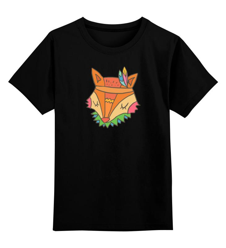 Printio Детская футболка классическая унисекс Этно лиса printio детская футболка классическая унисекс этно лиса