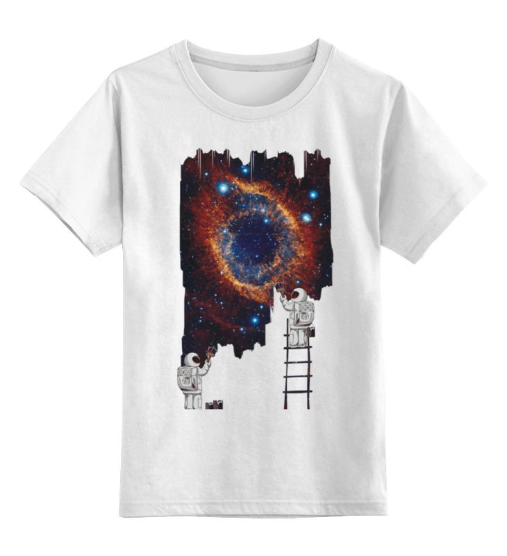Фото - Printio Детская футболка классическая унисекс Космические художники printio свитшот унисекс хлопковый космические художники