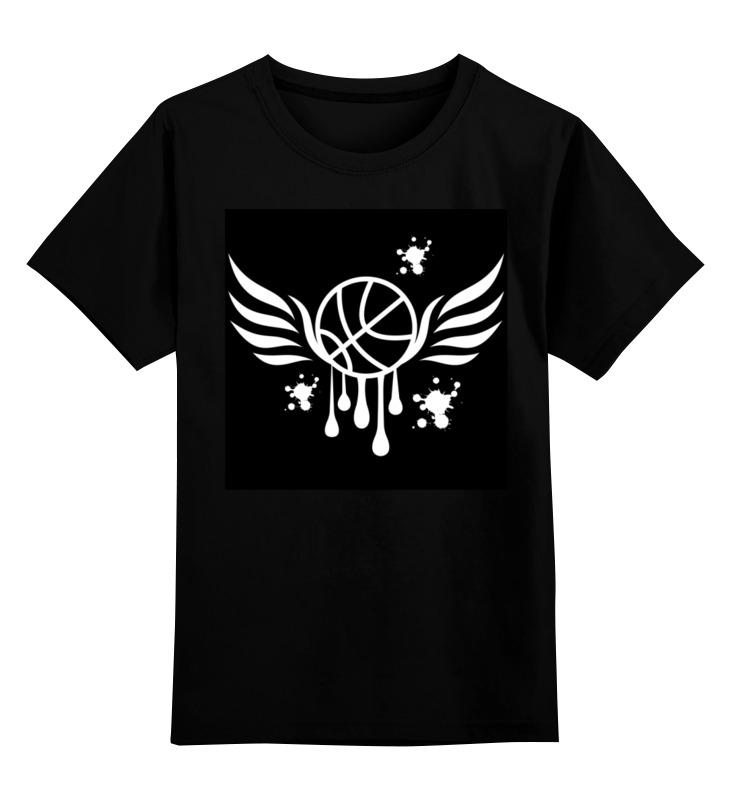 Printio Детская футболка классическая унисекс Баскетбольный мяч