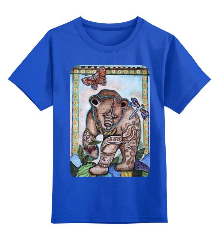 Printio Детская футболка классическая унисекс Уральский мишка