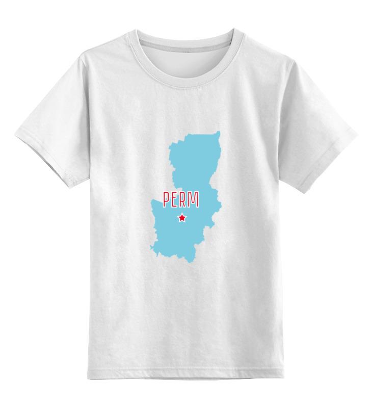 Printio Детская футболка классическая унисекс Пермский край. пермь