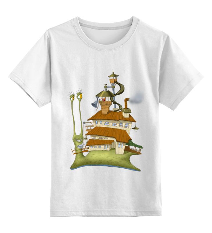 Printio Детская футболка классическая унисекс Живой летающий дом