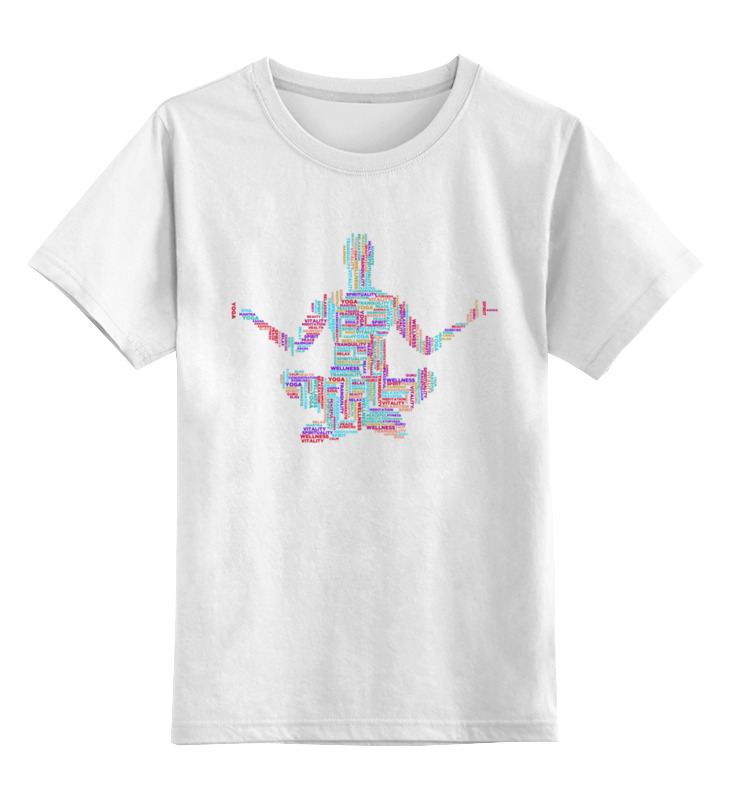 Printio Детская футболка классическая унисекс Медитация йога арт printio детская футболка классическая унисекс йога девушка