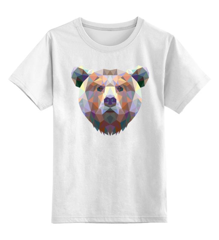 Фото - Printio Детская футболка классическая унисекс Полигональный медведь printio детская футболка классическая унисекс полигональный кабан