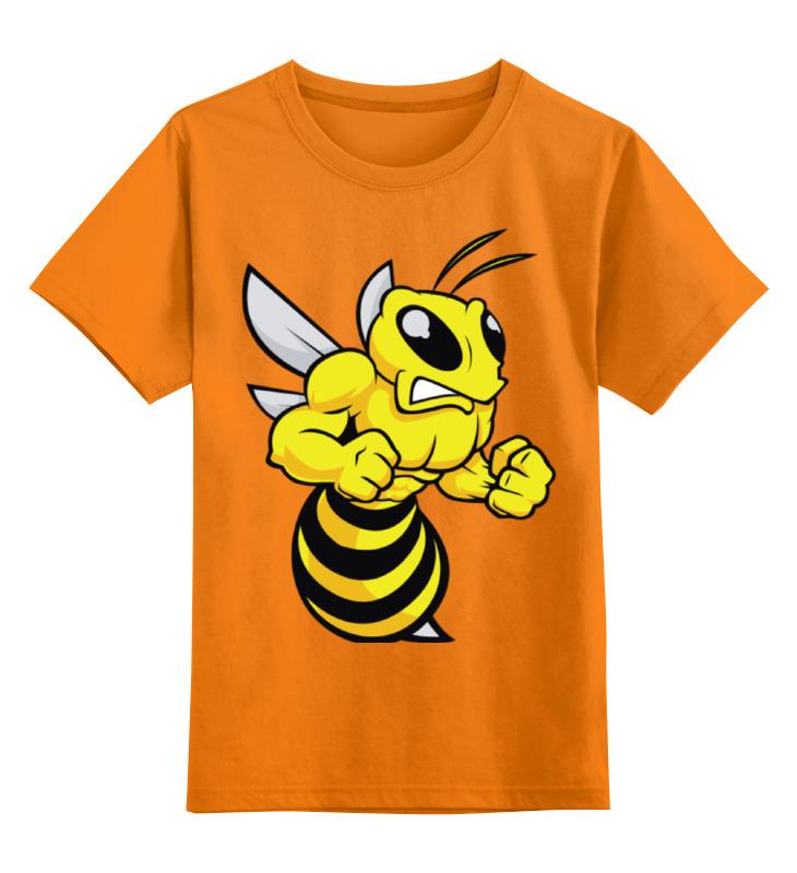 Printio Детская футболка классическая унисекс Злая оса