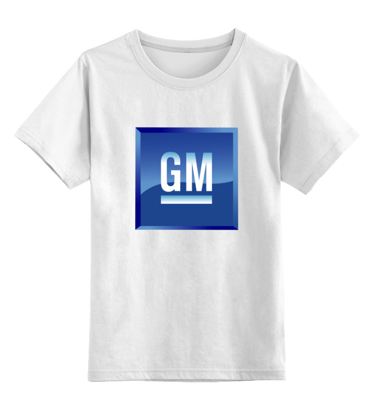 Printio Детская футболка классическая унисекс Gm. general motors
