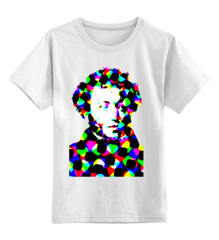 Printio Детская футболка классическая унисекс Пушкин printio детская футболка классическая унисекс пушкин и доппельгангер