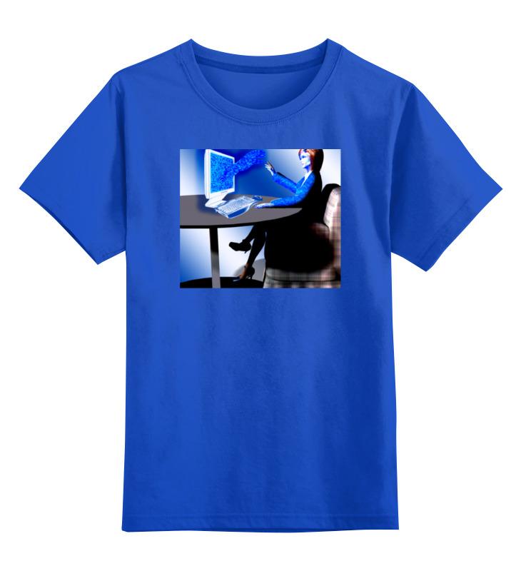 Printio Детская футболка классическая унисекс Будущие технологии тектильного компьютера