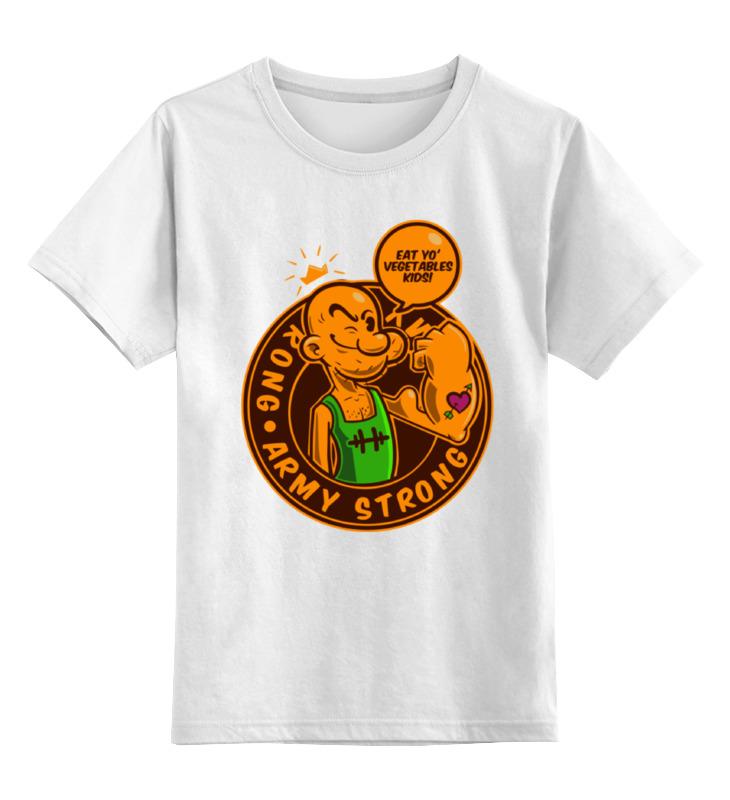 Printio Детская футболка классическая унисекс Моряк попай