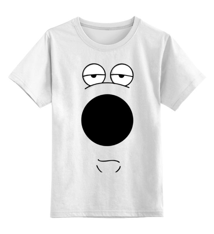 Printio Детская футболка классическая унисекс Фан арт брайн из грифинов