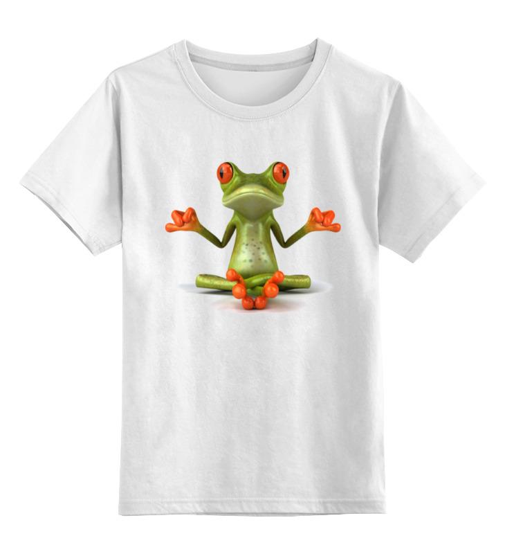 Printio Детская футболка классическая унисекс Йога, философия
