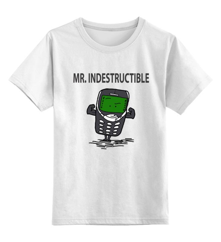 Printio Детская футболка классическая унисекс Мистер неубиваемый