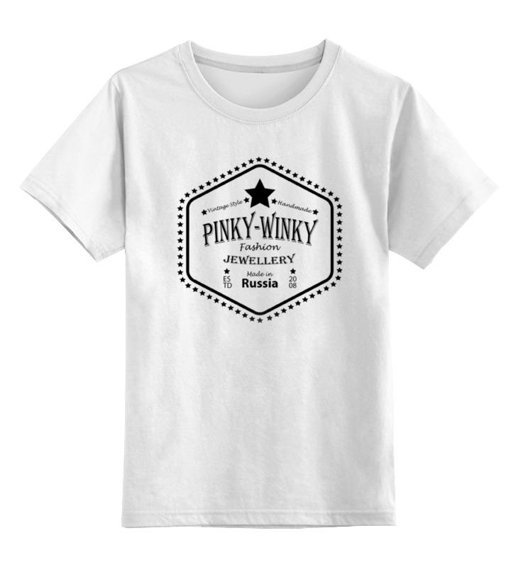 Printio Детская футболка классическая унисекс Pinky-winky