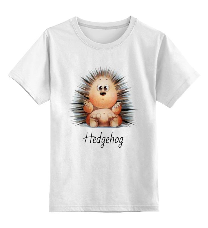 printio детская футболка классическая унисекс hadgehog Printio Детская футболка классическая унисекс Hadgehog