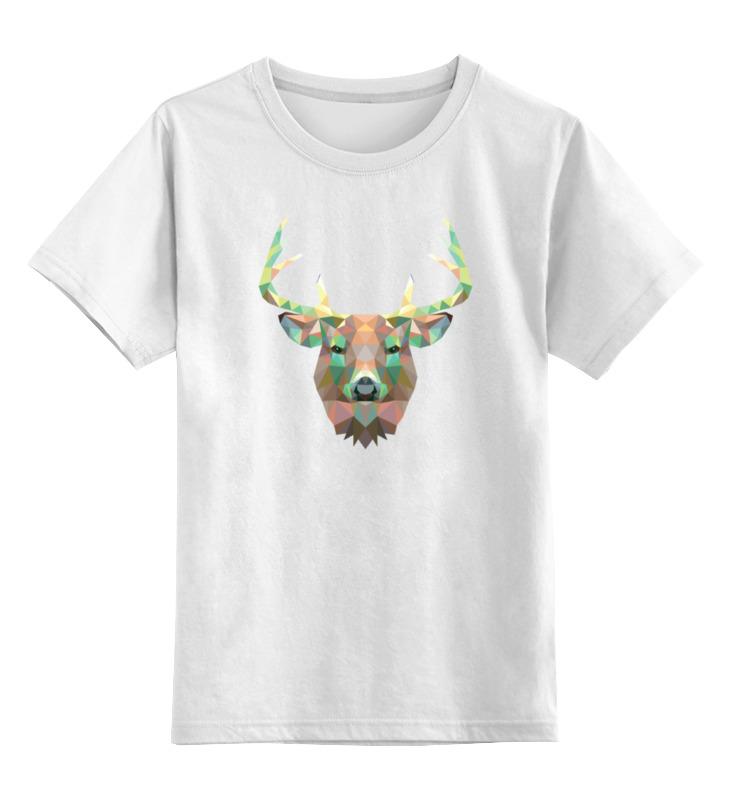 Фото - Printio Детская футболка классическая унисекс Полигональный олень printio детская футболка классическая унисекс полигональный кабан