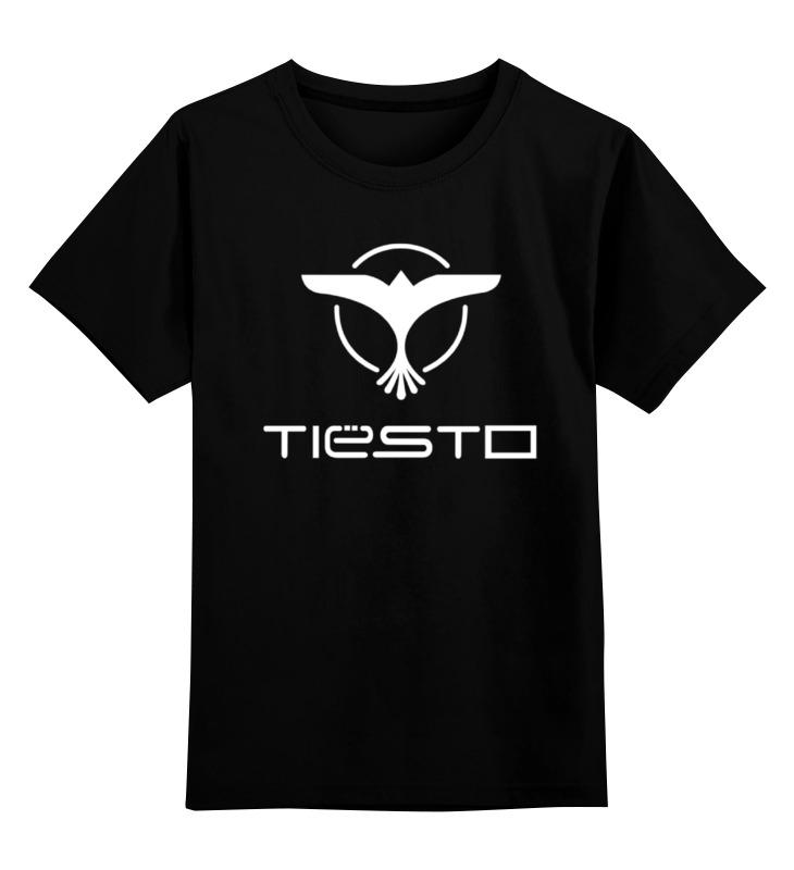 Printio Детская футболка классическая унисекс Tiesto (тиесто)