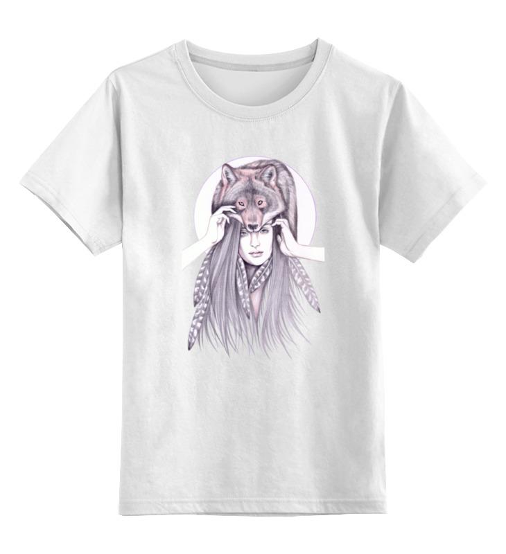 Printio Детская футболка классическая унисекс Девушка волк printio детская футболка классическая унисекс йога девушка