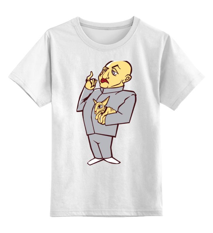 Printio Детская футболка классическая унисекс Доктор зло